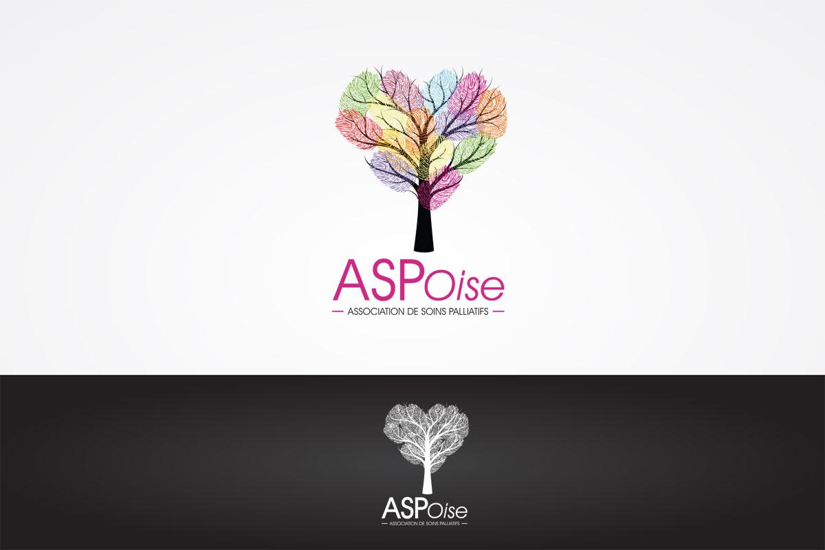 Logo sur-mesure Asp Oise par notre studio graphique de Chantilly