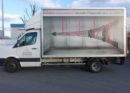 Visuel camion – Solutions Événements