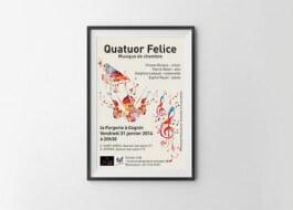 Affiche – Quatuor Felice