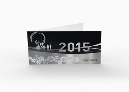 Carte de vœux 2015 – GéoLean