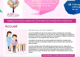 Webdesign sur-mesure pour l'ASP Oise